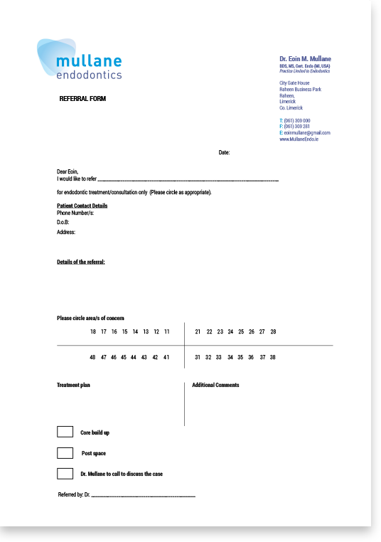 Referral Form for Practitioners